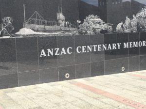 Anzac Centenary Monument